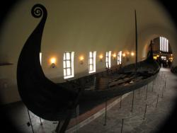 Death boat, but not murder boat: New medical testing done on remains from two women's bodies found in this Viking burial boat -- the Oseberg ship -- show no signs of foul play or murder. The ship is now on display at the Viking Ship Museum in Oslo, Norway.