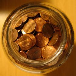 Pennies: Billions of coins, most of them pennies, are unaccounted for. Maybe D.B. Cooper has them all...