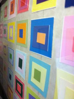 Color Theory with Paint Chips