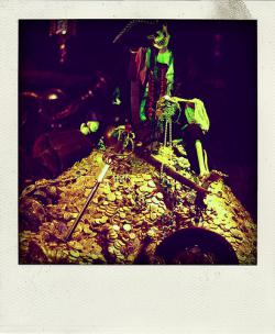 A bright future: We will all be armed skeletons, sitting on big piles of minerals. That's how I like to see it, anyway.