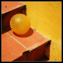 Plastic is a ball: Look how far plastic technology has come. We wouldn't have these cool balls without its invention 100 years ago. (Photo by Liethwalker)