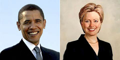 Race vs Sex: Barack Obama and Hillary Clinton