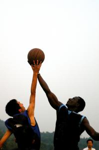Racing off: The subjects of race and sports are often discussed together. Should they? Do people of different ethnicities excell at different sports? Does it matter? What do you think?