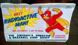I'm Radioactive Man!: The boots hide my ankle bracelet!