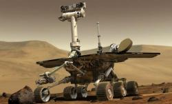 Rolling, rolling, rolling: Tomorrow marks the 10-year anniversary of the landing of NASA's Mars rover Opportunity. It's still taking pictures and collecting data on the Red Planet.