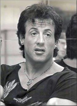 Rocky times for Rambo: Shown here on a promotional tour in 1988 for Rambo III, Sylvester Stallone readily admits that he used HGH and testosterone to beef up his body to look good in his latest Rambo film.