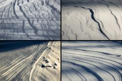 Snow-wind patterns 1