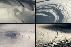 Snow-wind patterns 3