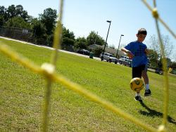 Kicking away the blues?: Researchers in Canada have found that kids who have a high opinion of their athletic abilities tend to be more satisfied with their friendships. Why might that be?