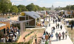 Solar Decathlon: The public flocked to see 20 solar powered homes on the National Mall in Washington, D.C. (Credit: Kaye Evans-Lutterodt/Solar Decathlon)