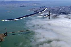 Solar plane: The plane Solar Impulse is making a cross-country trek over the USA.