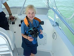 8-Yr-Old Shark Conservationist Sophi Bromenshenkel from Minnesota