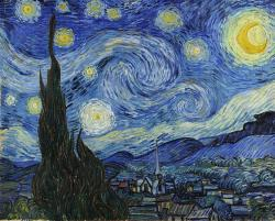 Starry Night: Vincent Van Gogh's masterpiece.