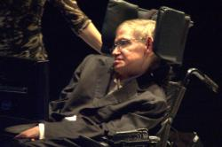Stephen Hawking in 2008