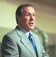 Oregon Governor Ted Kulongoski: wants to replace state climatologist George Taylor over a disagreement on global warming.  Photo Legal Services Corporation.