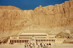 After more than 3,400 years, the body of Queen Hatshepsut has been identified: Photo of the Temple of Hatshepsut by mike nl at Flickr.com