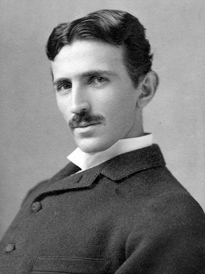Nikola Tesla c. 1893: The inventor and electrical engineer was born July 10, 1856 and died on January 7, 1943.