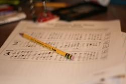 Test time: Minnesota students in grades five, eight and high school will be taking a new standardized test in science this school year. Get your pencils sharp. (Flickr photo by chinesecommie)