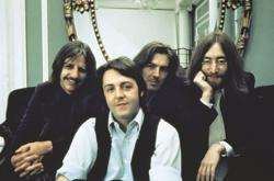 """Do you remember us?: """"I'm Ringo."""" """"I'm Paul."""" """"I'm George."""" """"And I'm John, and we're the Beatles."""""""
