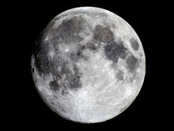The Moon: The Moon's polar regions could hold frozen water.
