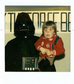 Vader smells like ashtrays and bug spray: I wouldn't feel safe either.