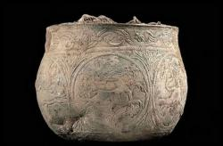 Hitting the jackpot: Two treasure hunters with a metal detector recently uncovered this silver Viking bowl and a treasure trove of other artifacts in a farm field in England. Early estimates peg the find at worth more than $1 million.