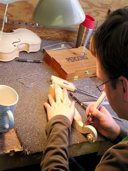 Violin engineering: image modified from TheViolinSite.com via wikipedia