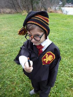 This goes double for you, kid: Do you know what they have to eat in Slytherin? Shape up, or you'll find out.
