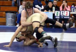 Contagious problem: High school wrestling in Minnesota has been shut down for eight days due to an outbreak of herpes gladiatorum among wrestlers at 19 schools across the state. Is it an overreaction to shut down all the action for such a medical problem?